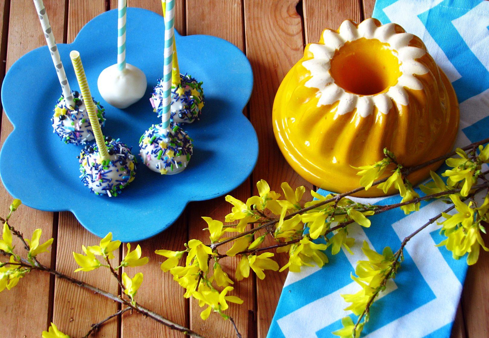 Cytrynowe cake pops