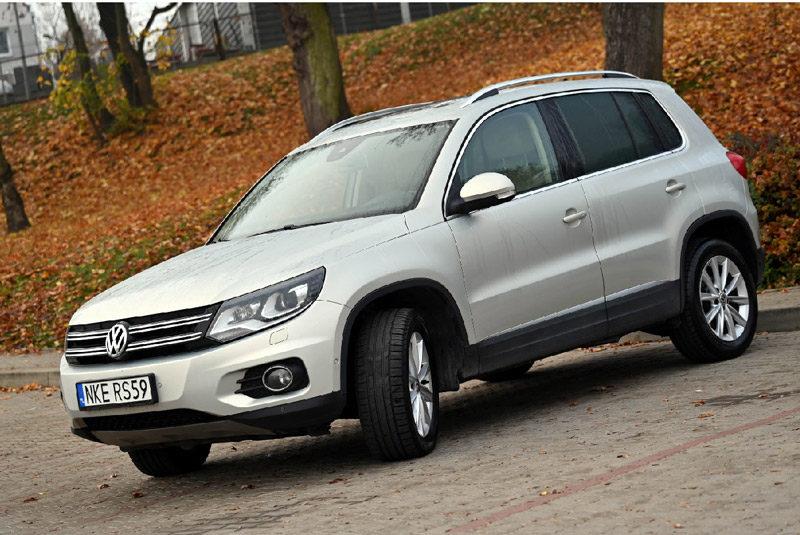 Ogłoszenie o sprzedaży VW Tiguan