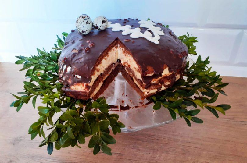 Piernikowy tort