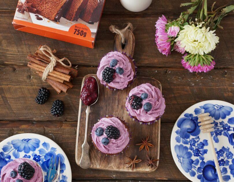 Piernikowe cupcake